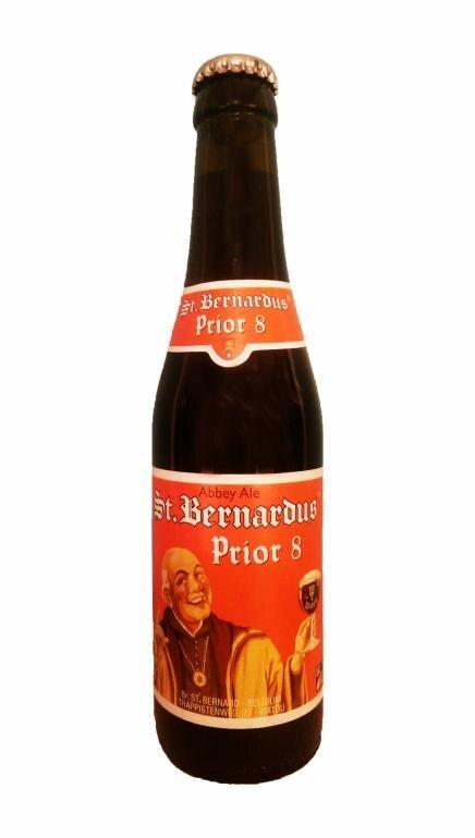 Øl Abbey Ale, St. Bernardus Prior 8. 33cl